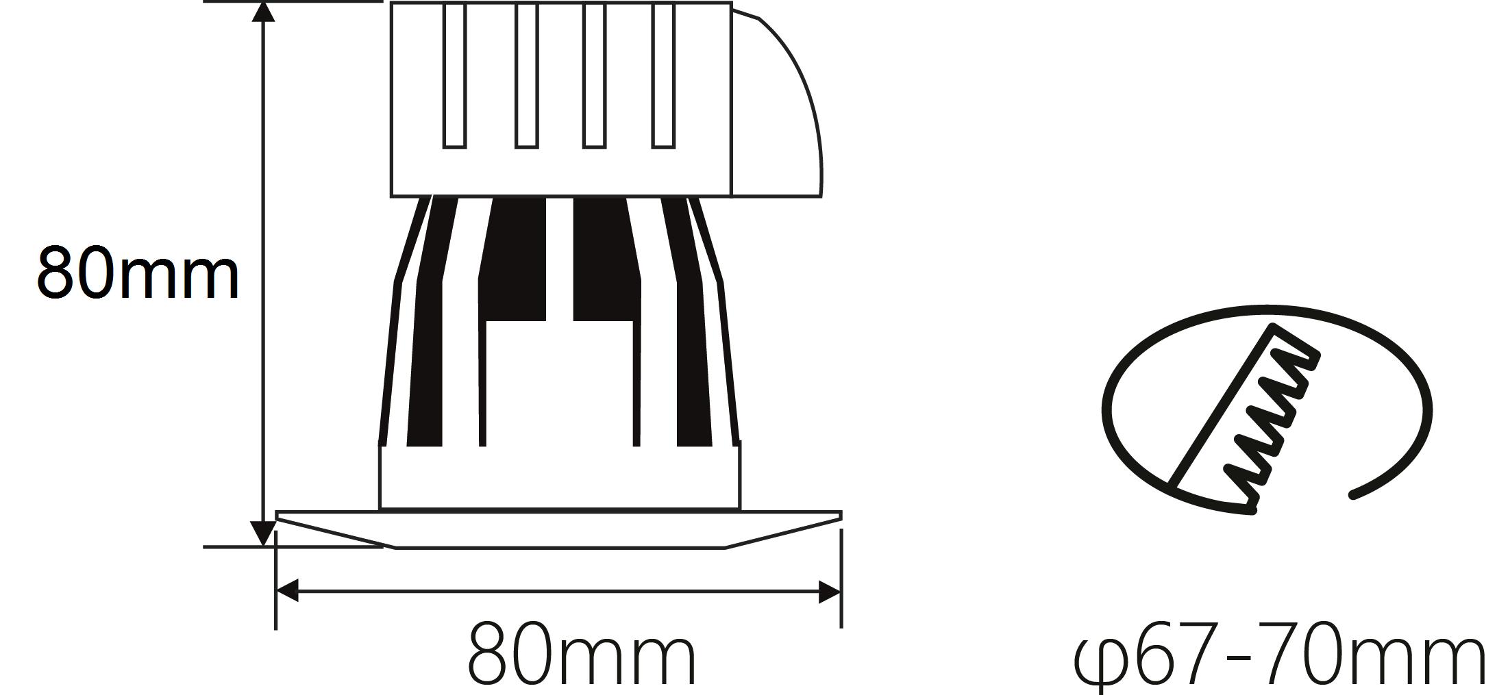 Nordlicht Beleuchtungssysteme Gmbh Nl Cf8 68 240v Ac