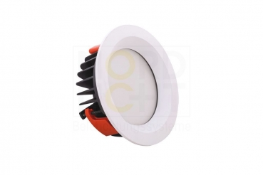 DLO-200 Multi-Power LED Downlight mit optionaler Wechsel-Front 3000K