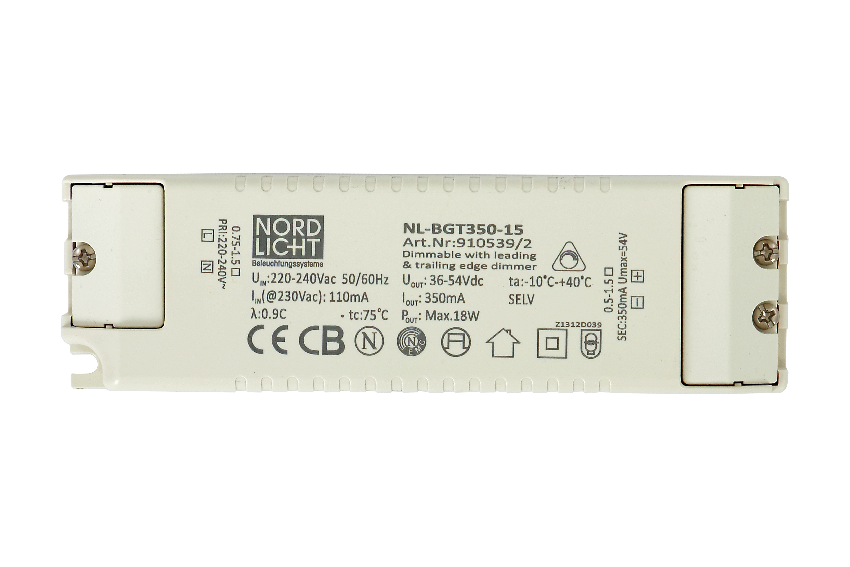Nordlicht Beleuchtungssysteme GmbH - BGT350-15 dimmbares LED ...