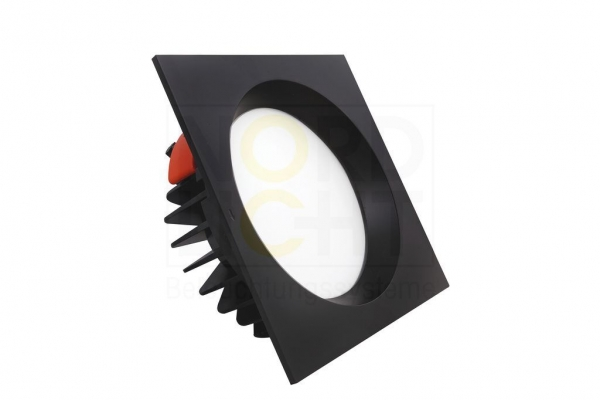 DLO-150 Multi-Power LED Downlight mit optionaler Wechsel-Front 3000K