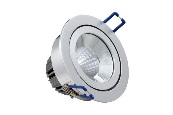nordlicht beleuchtungssysteme gmbh ne 10 105 hochglanz reflektor led spot 10 watt schwenkbar. Black Bedroom Furniture Sets. Home Design Ideas