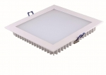 "PLS18-140E ""flaches"" LED Panel mit Backlight Platine - 3000K - Eckig"